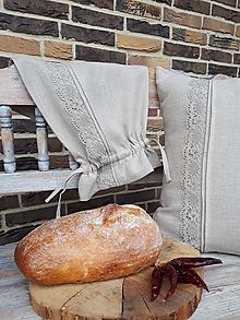 Úžitkový textil - Vrecko na chlieb Ordinary Life - 10384648_