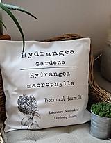 Úžitkový textil - Botanické poťahy na vankúše - 10382984_
