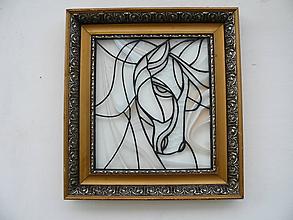 Dekorácie - Silhouette of a horse - 10386774_