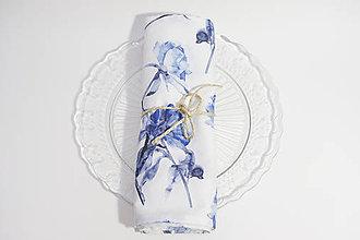 Úžitkový textil - Set štyroch textilných akvarelových prestieraní - 10386858_