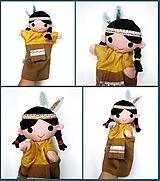Maňuška indián - na objednávku