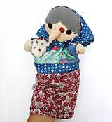 Hračky - Maňuška ježibaba (na objednávku) - 10387765_