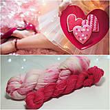 Galantéria - VALENTINE Sock set - ručne farbená vlna - 10385786_