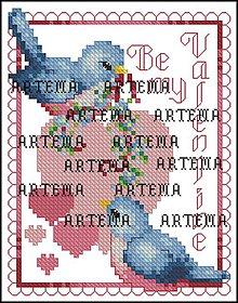 Návody a literatúra - S190 Valentínske vtáčatká - 10386793_