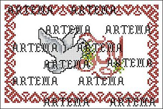 Návody a literatúra - S189 Valentínska holubica - 10386860_