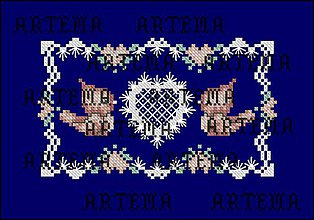 Návody a literatúra - S165 Valentínske vtáčiky - 10386900_