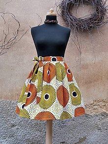 Sukne - AFRIKA - PASTELOVÁ KOLA - 10385411_