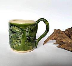 Nádoby - Keramický pohár - Listový - 10388066_