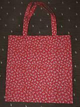 Nákupné tašky - Taška - červenooranžová - 10386918_