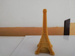 Iné doplnky - Eifelova veža z včelieho vosku - 10386265_