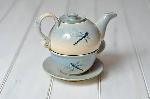 Čajová súprava- vážky