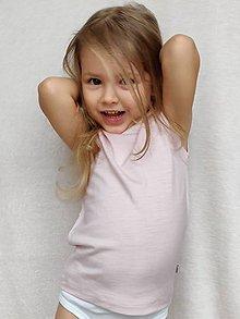 Detské oblečenie - Detské merino tielko - 10388171_