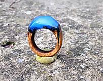Prstene - Dámsky prsteň Blue Sky - 10386121_