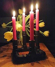 Svietidlá a sviečky - Svietnik - 10385797_
