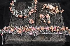 """Ozdoby do vlasov - Kvetinový set """"navždy s láskou"""" - 10386806_"""