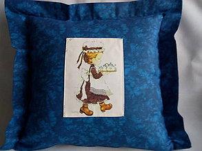 Úžitkový textil - dekoračný vankúš - 10386898_