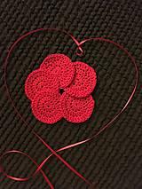 Zero waste Valentínky - Červené odličovacie tampóniky