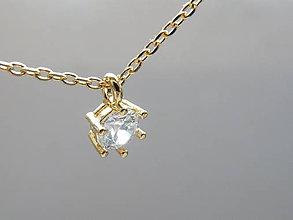 Náhrdelníky - náhrdelník ... Pro Tebe pozlaceno 16K - 10387199_