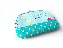 Peňaženky - Peňaženka XL Nežné kvietky - 10387104_