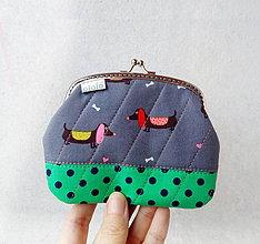 Peňaženky - Peňaženka XL Jazvečíci - 10387084_