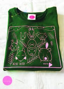 Tričká - dámske tričko /zvieratká z NÍZKYCH TATIER - 10386009_