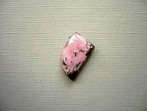 Minerály - Kabošon rodonitu 16 mm, č.14f - 10387038_