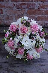 Kytice pre nevestu - Romantická svadobná kytica - 10391531_