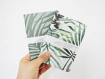 Papiernictvo - 2 zápisníky - botanické IV - 10391703_
