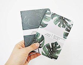Papiernictvo - 2 zápisníky - botanické II - 10391729_