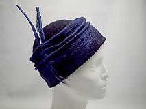 Čiapky - Tmavomodrý klobúčik - 10392584_