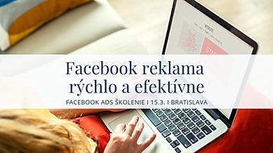 Kurzy - Facebook reklama rýchlo a efektívne - intenzívne školenie - 10391809_
