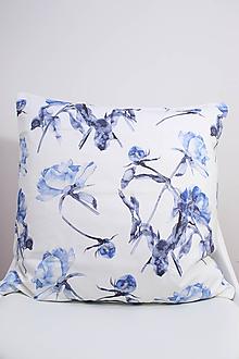 Úžitkový textil - FLORAL akvarelová obliečka - Pivónia - 10391903_