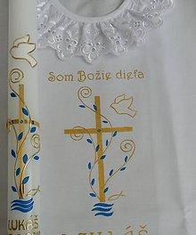 Detské doplnky - krstový set Luca - 10389550_