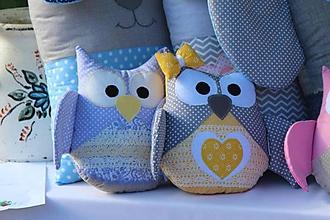 Textil - malá sovička - 10390949_