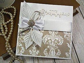 Papiernictvo - Svadobná pohľadnica - 10391204_