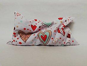 Úžitkový textil - Pohánkový vankúšik s obliečkou - 10391717_