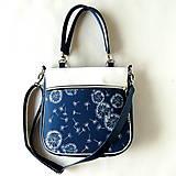 Veľké tašky - Big Sandy - Modrá s púpavami - 10391315_