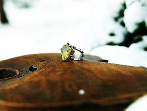 "Prstene - Nerezový prsten.."" Golden chain "" - 10391325_"