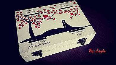 Drobnosti - Svadobná pokladničky - 10389503_
