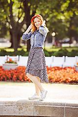 Sukne - asymetrická zavinovacia sukňa - 10389565_