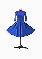 Šaty - Spoločenské midi šaty - 10392241_