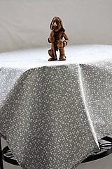 Úžitkový textil - Obrus. Štóla šedá a minimalistická. - 10391125_