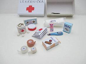 Hračky - Lekárnička MINI pre Barbie - 10392060_