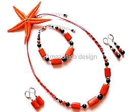 Sady šperkov - Sada šperků bohyně Sachmet - 10391423_