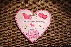 Dekorácie - Veľká Valentínka - 10390854_