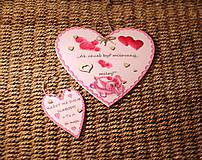 Dekorácie - Veľká Valentínka - 10390857_