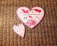 Dekorácie - Veľká Valentínka - 10390858_
