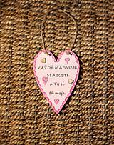 Dekorácie - Valentínske srdiečko z lásky - 10390896_
