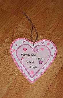 Dekorácie - Valentínske srdiečko z lásky - 10390722_