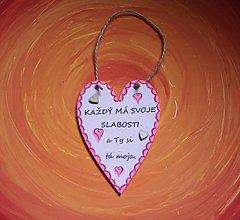 Dekorácie - Valentínske srdiečko z lásky - 10390893_